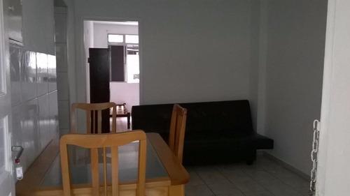 apartamento residencial à venda, vila guilhermina, praia grande. - ap0883