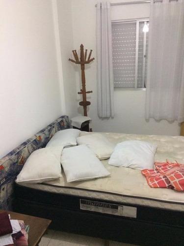 apartamento residencial à venda, vila guilhermina, praia grande. - ap0920