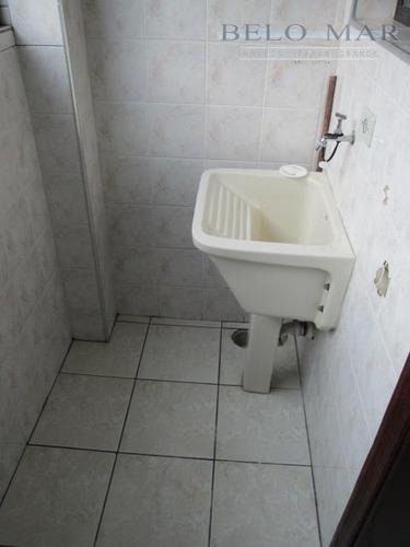 apartamento residencial à venda, vila guilhermina, praia grande - ap0942. - ap0942