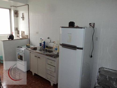 apartamento  residencial à venda, vila guilhermina, praia grande. - ap1418