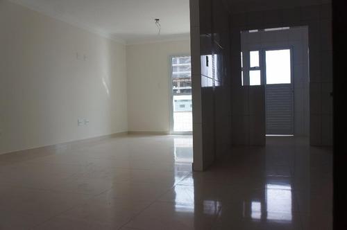apartamento residencial à venda, vila guilhermina, praia grande. - ap1815