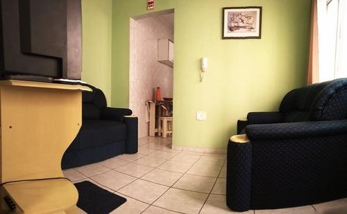 apartamento residencial à venda, vila guilhermina, praia grande. - ap1874