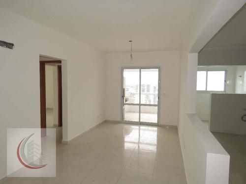 apartamento residencial à venda, vila guilhermina, praia grande. - ap2132