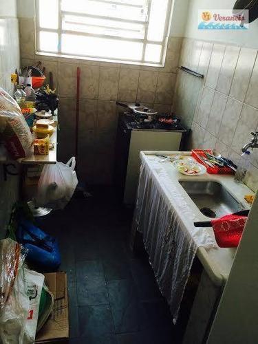 apartamento residencial à venda, vila guilhermina, praia grande. - ap2157