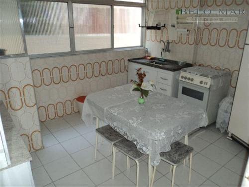 apartamento  residencial à venda, vila guilhermina, praia grande. - codigo: ap0583 - ap0583