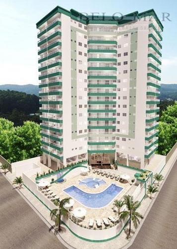 apartamento residencial à venda, vila guilhermina, praia grande. - codigo: ap0779 - ap0779