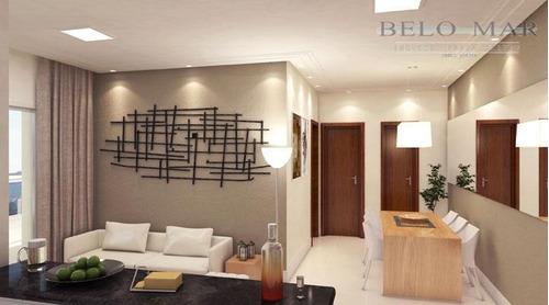 apartamento residencial à venda, vila guilhermina, praia grande. - codigo: ap0782 - ap0782