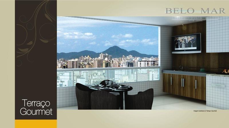 apartamento residencial à venda, vila guilhermina, praia grande. - codigo: ap0848 - ap0848