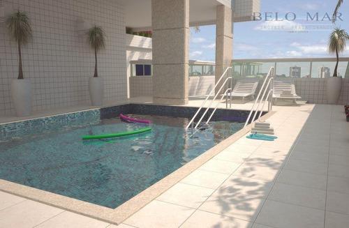 apartamento residencial à venda, vila guilhermina, praia grande. - codigo: ap0853 - ap0853