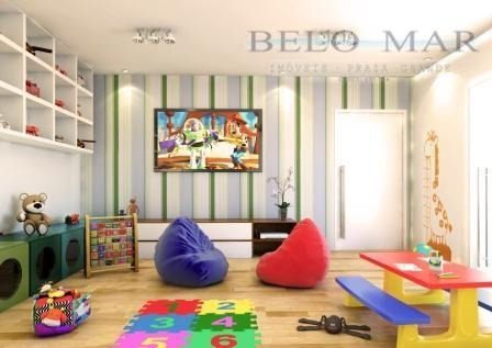 apartamento residencial à venda, vila guilhermina, praia grande. - codigo: ap0871 - ap0871