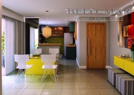apartamento residencial à venda, vila guilhermina, praia grande. - codigo: ap0874 - ap0874