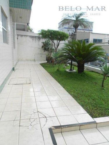 apartamento residencial à venda, vila guilhermina, praia grande. - codigo: ap0907 - ap0907