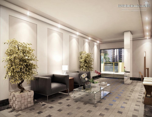 apartamento residencial à venda, vila guilhermina, praia grande. - codigo: ap1040 - ap1040
