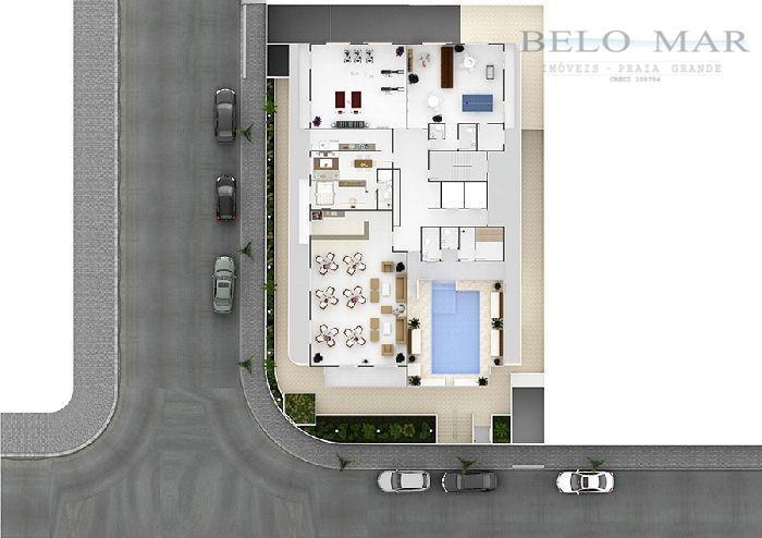 apartamento residencial à venda, vila guilhermina, praia grande. - codigo: ap1042 - ap1042