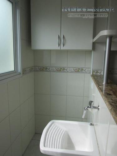 apartamento residencial à venda, vila guilhermina, praia grande. - codigo: ap1098 - ap1098