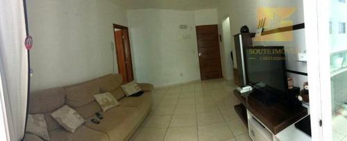 apartamento residencial à venda, vila guilhermina, praia grande. - codigo: ap3071 - ap3071