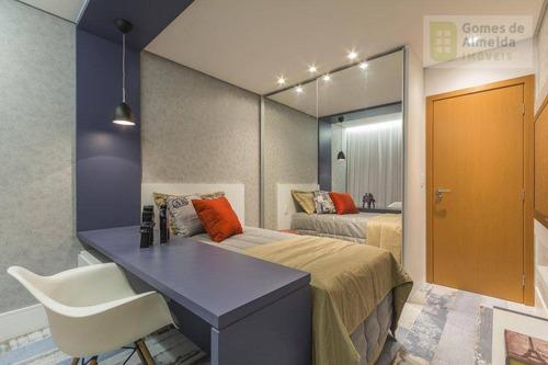 apartamento residencial à venda, vila guiomar, santo andré - ap1769. - ap1769