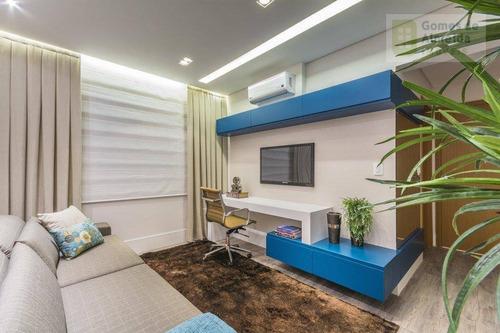 apartamento residencial à venda, vila guiomar, santo andré - ap1782. - ap1782