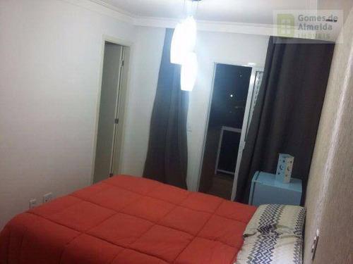 apartamento residencial à venda, vila guiomar, santo andré. - codigo: ap2627 - ap2627