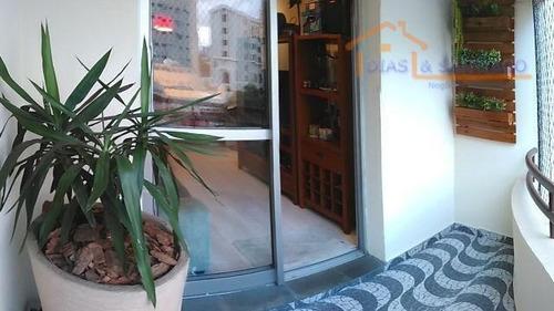 apartamento residencial à venda, vila gumercindo, são paulo. - ap1408