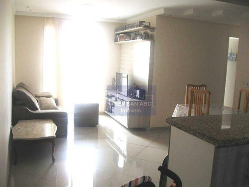 apartamento residencial à venda, vila helena, santo andré - ap1688. - ap1688