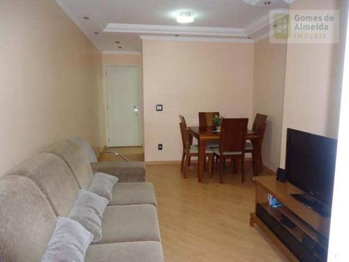 apartamento residencial à venda, vila homero thon, santo andré - ap0246. - ap0246