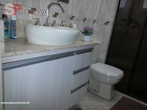 apartamento  residencial à venda, vila homero thon, santo andré. - ap0703