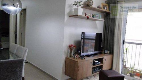 apartamento residencial à venda, vila homero thon, santo andré - ap1552. - ap1552