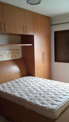 apartamento residencial à venda, vila homero thon, santo andré. - ap1601