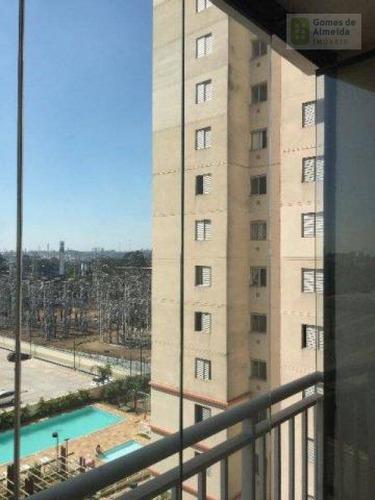 apartamento residencial à venda, vila homero thon, santo andré - ap2039. - ap2039
