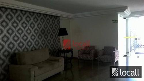 apartamento residencial à venda, vila imperial, são josé do rio preto. - ap0081