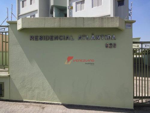 apartamento residencial à venda, vila independência, piracicaba. - ap0393
