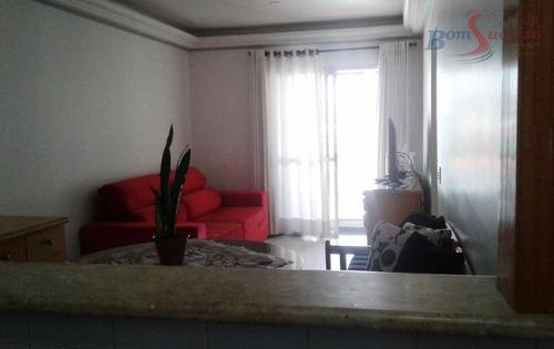 apartamento residencial à venda, vila invernada, são paulo. - ap1178