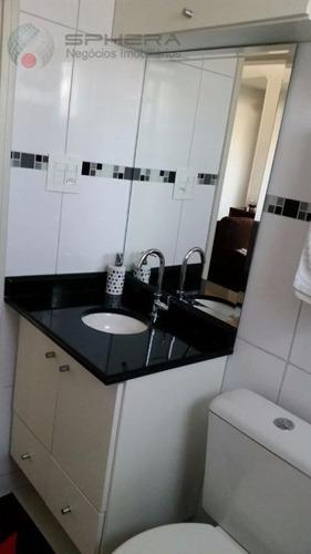 apartamento residencial à venda, vila irmãos arnoni, são paulo. - ap0304