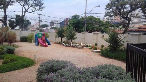 apartamento residencial à venda, vila itapura, campinas. - ap0314