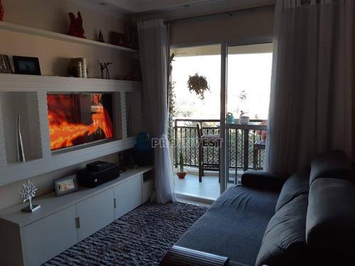 apartamento residencial à venda, vila lageado, são paulo. - ap4227