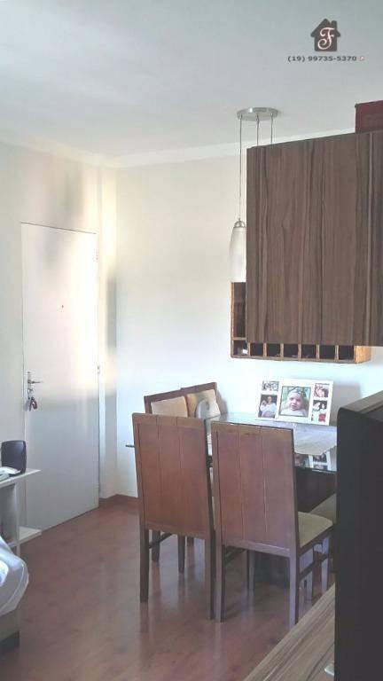 apartamento residencial à venda, vila lemos, campinas. - ap0579