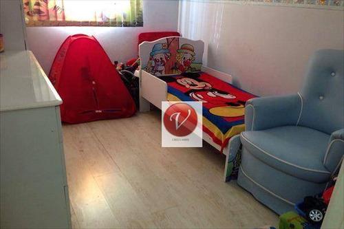 apartamento residencial à venda, vila leopoldina, santo andré - ap6560. - ap6560