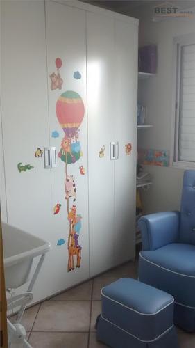 apartamento  residencial à venda, vila leopoldina, são paulo. - ap3989