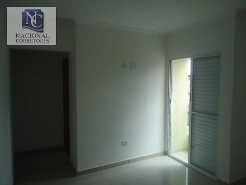 apartamento  residencial à venda, vila lucinda, santo andré. - ap0859
