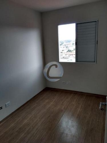 apartamento residencial à venda, vila luzita, santo andré. - ap3486