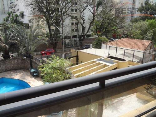 apartamento  residencial à venda, vila madalena, são paulo. - ap3601