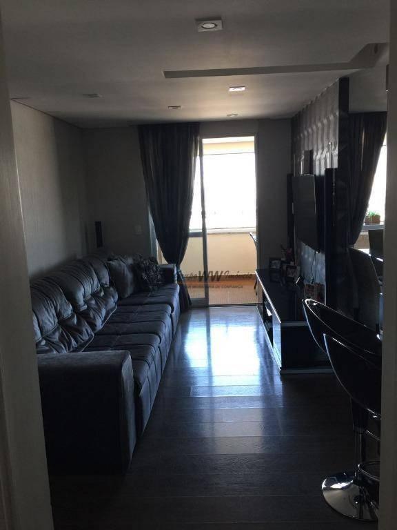 apartamento residencial à venda, vila maria, são paulo. - ap0856