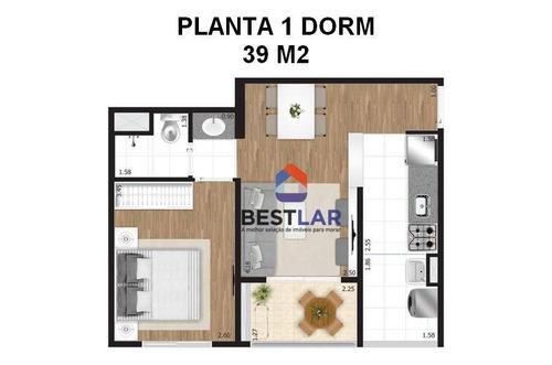 apartamento residencial à venda, vila maria, são paulo. - ap1913