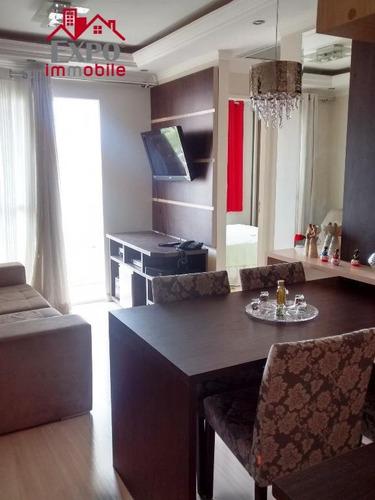 apartamento residencial à venda, vila marieta, campinas. - ap0098
