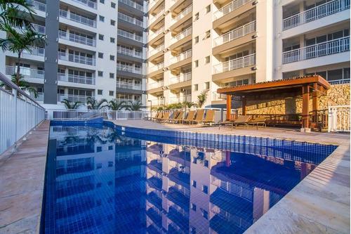 apartamento residencial à venda, vila matias, santos - ap0282. - ap0282