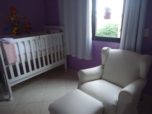 apartamento residencial à venda, vila matias, santos - ap0419. - ap0419