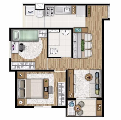 apartamento residencial à venda, vila matilde, são paulo. - ap0721