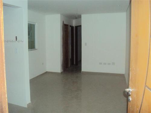 apartamento  residencial à venda, vila metalúrgica, santo andré. - ap0070