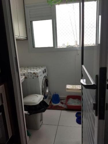 apartamento residencial à venda, vila metalúrgica, santo andré. - ap1466